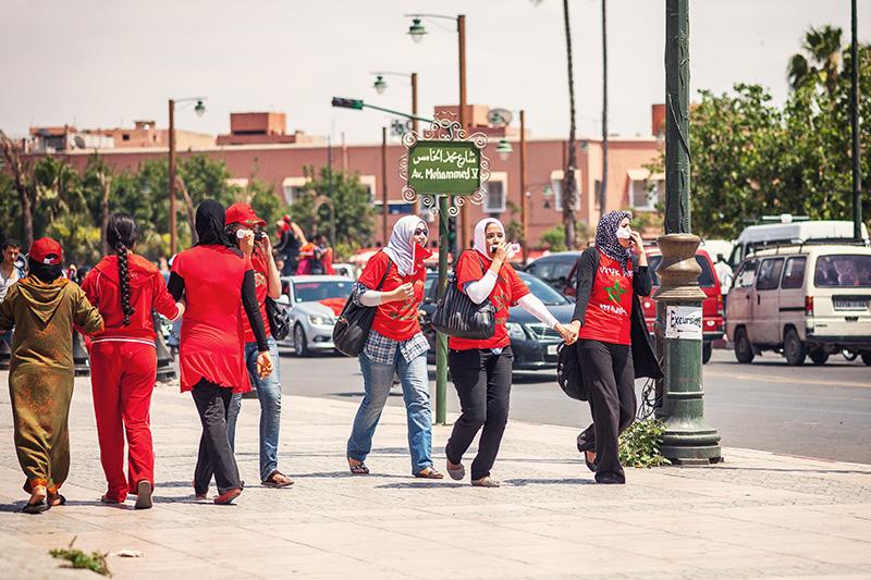 supporteur Maroc filles