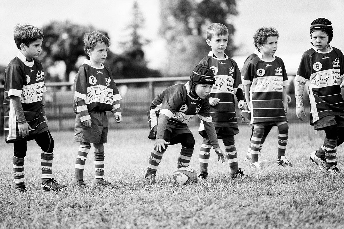 Tournoi Rugby Cadaujac Mise en Jeu