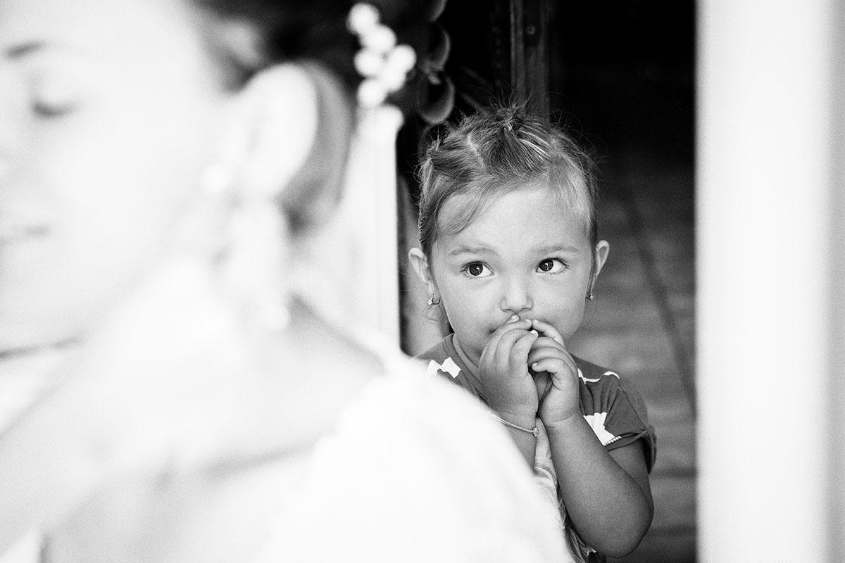 Mariage préparatifs mariée enfants