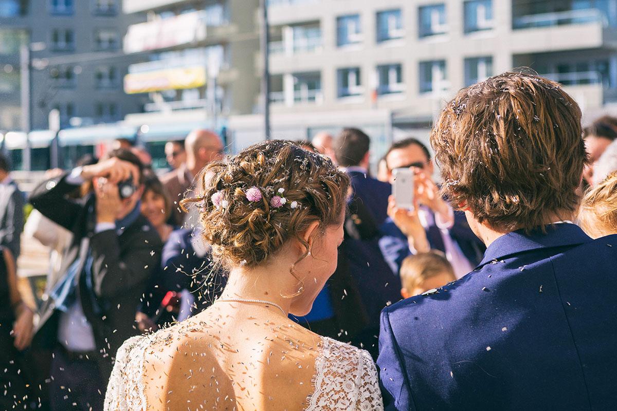 Mariage mairie dos lavande
