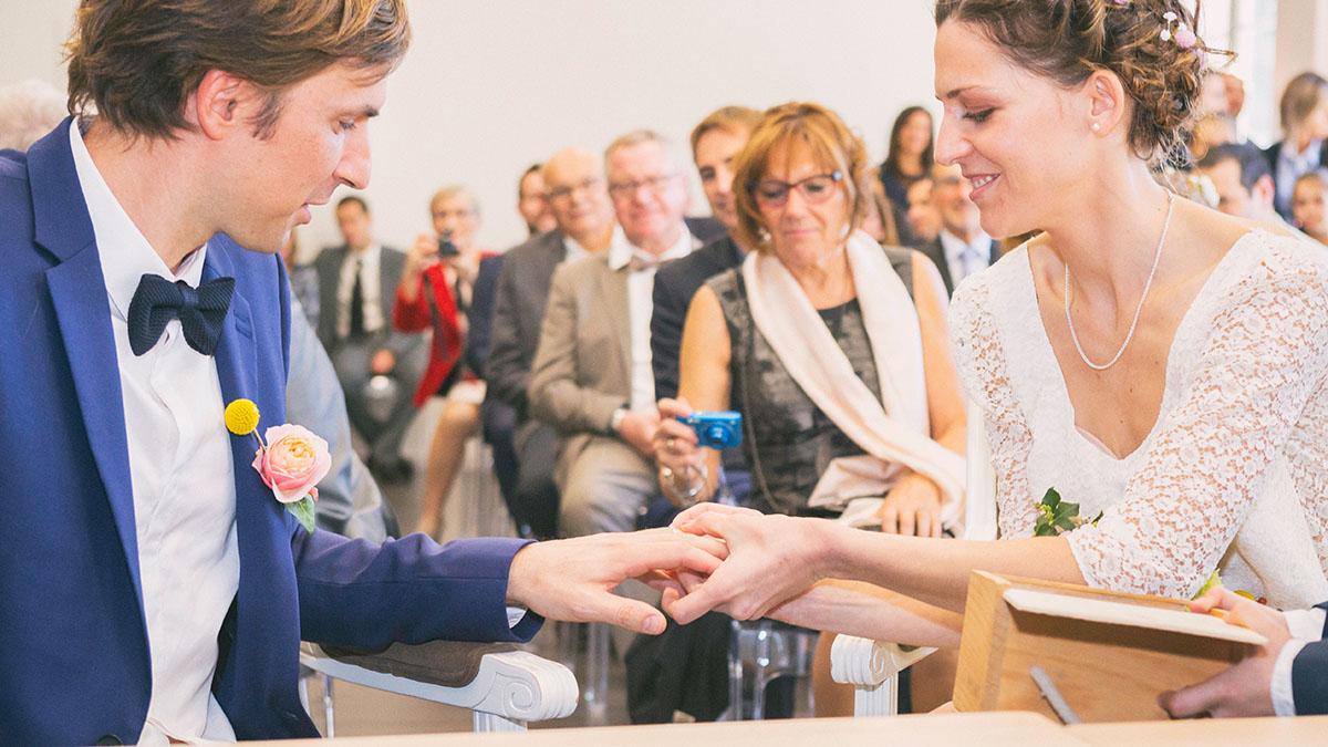 Mariage échange alliance