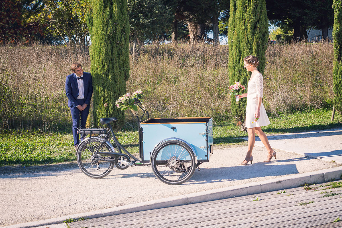Mariage rencontre tricycle
