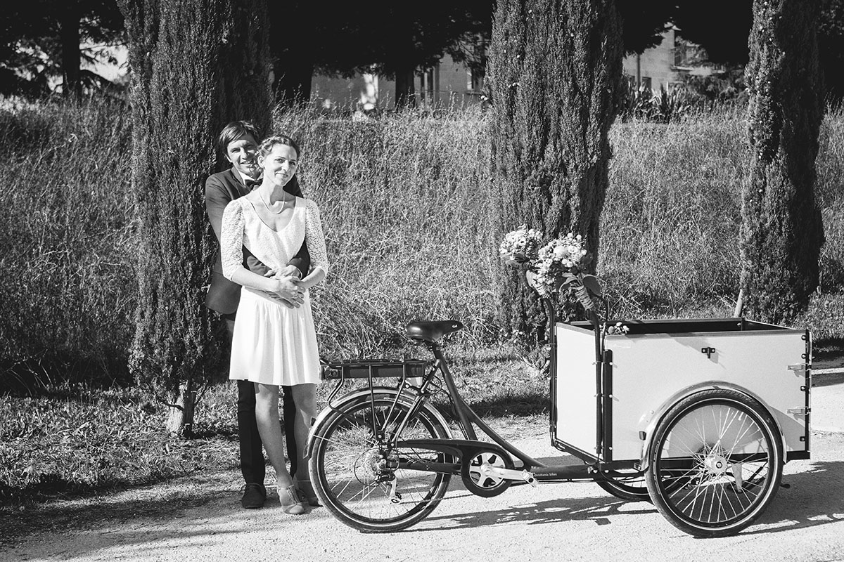 Mariage rencontre couple tricycle