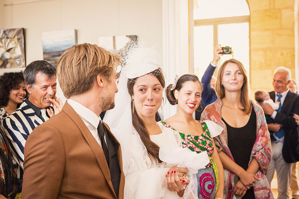 Mariage préparatifs mariée