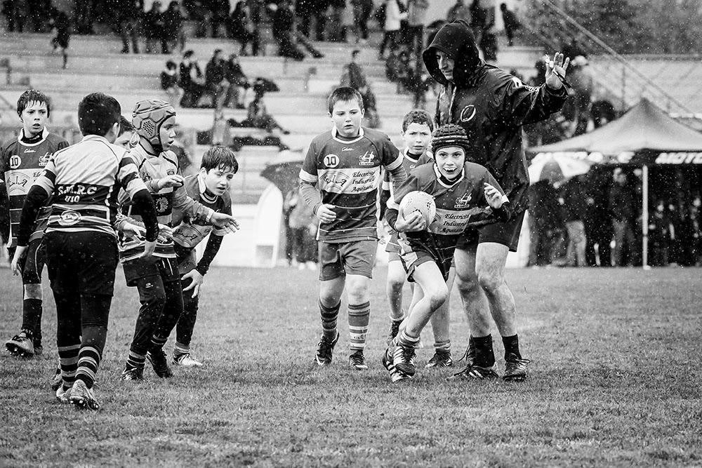 rugby M10 RCC Cestas Biganos noir et blanc