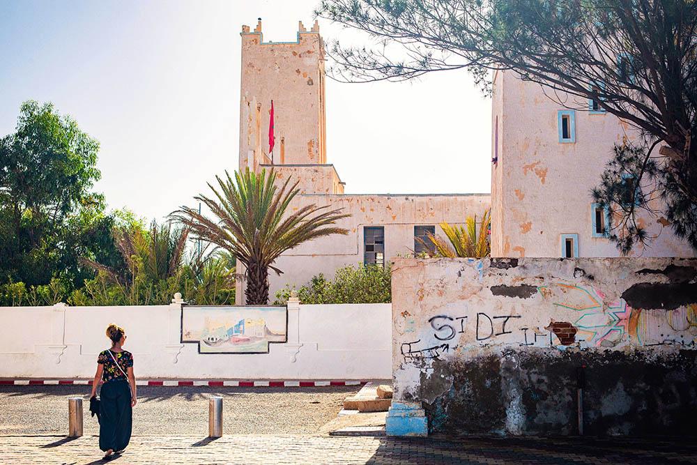 Maroc Sidi Ifni Street photography