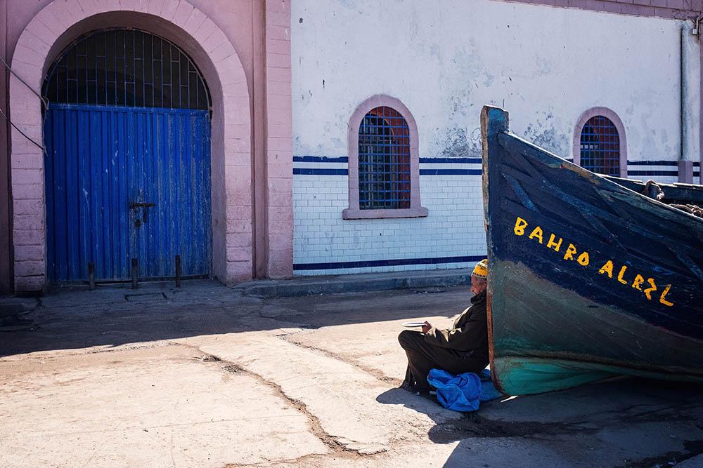 Maroc Essaouira bateau boat