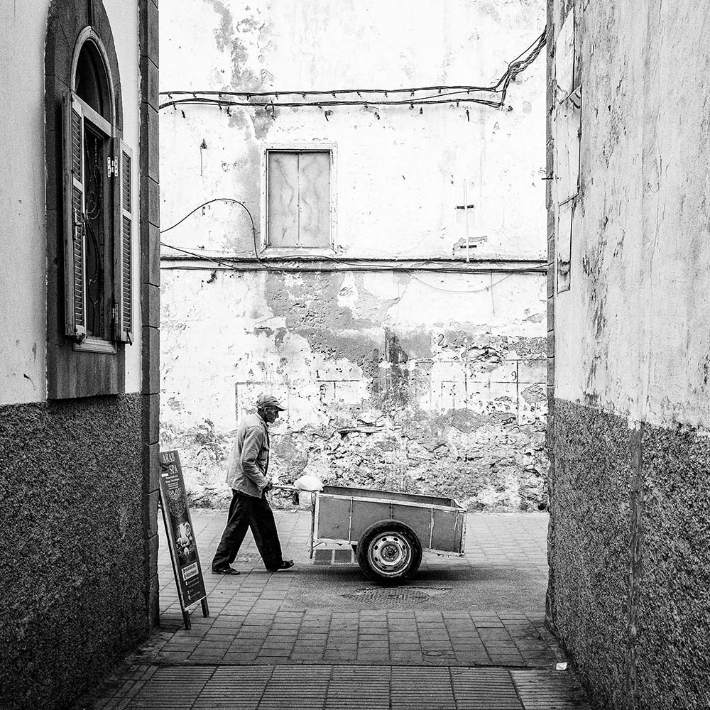 Maroc Essaouira Street photography black and white