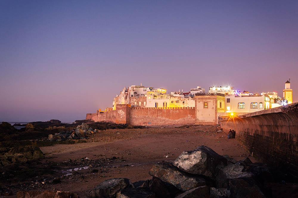 Maroc Essaouira night nuit