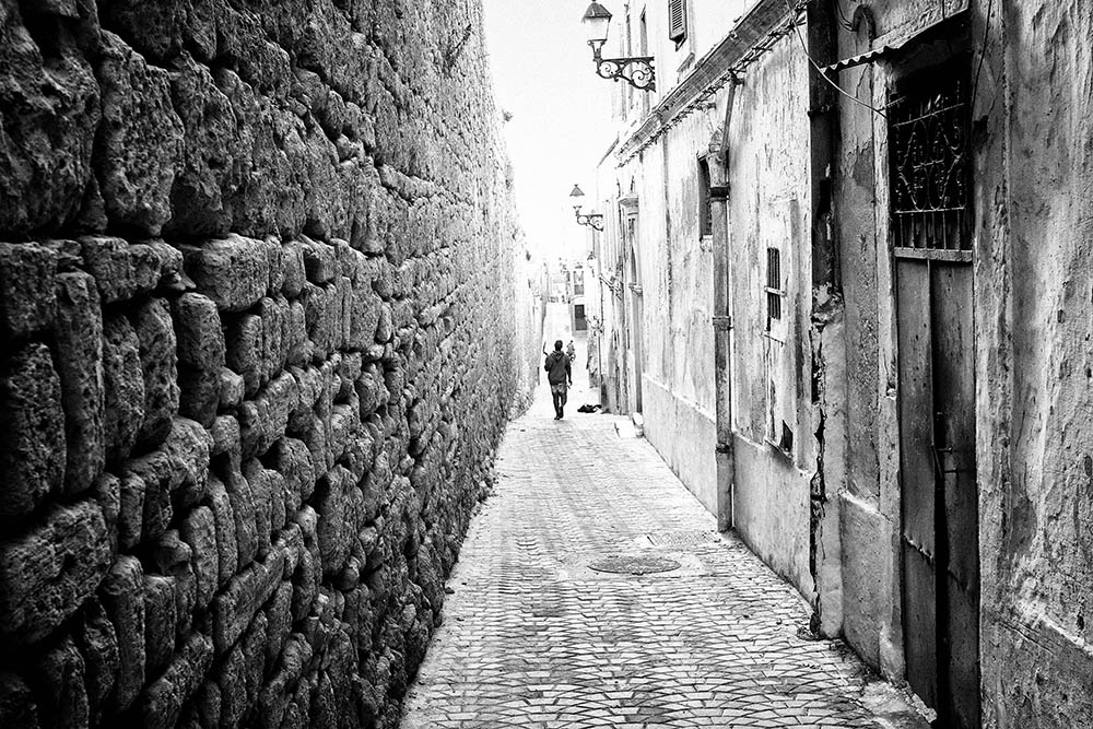 Maroc Safi Street photography black and white medina