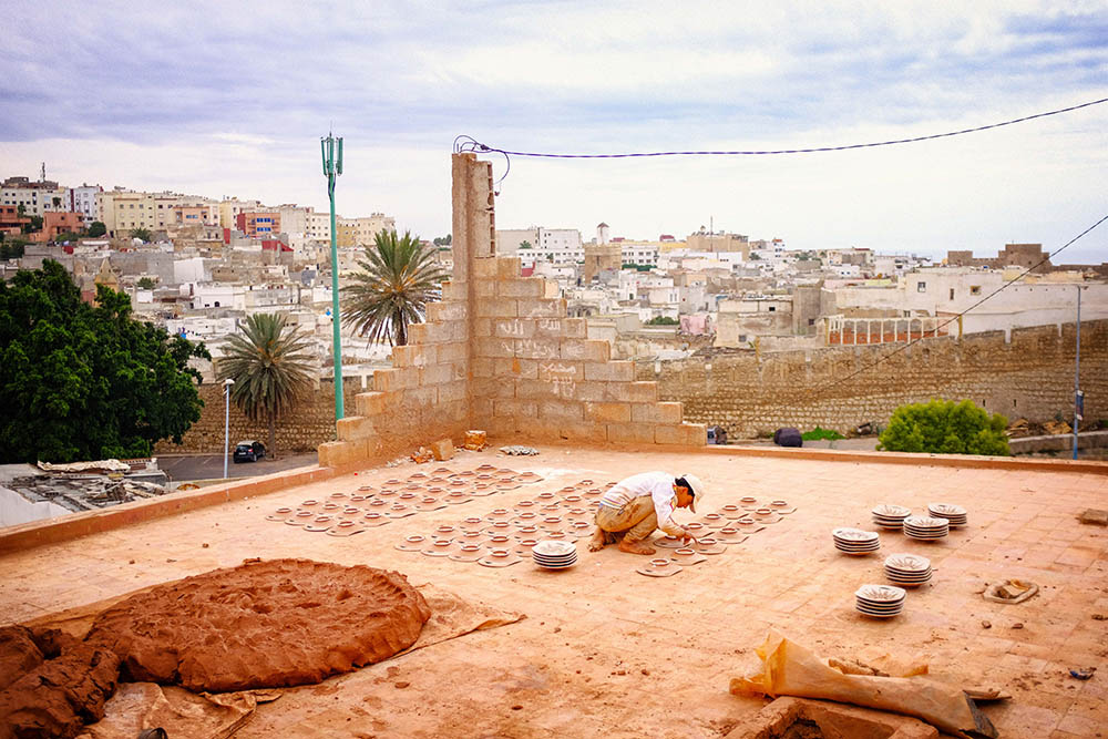 Safi Maroc colline des potiers