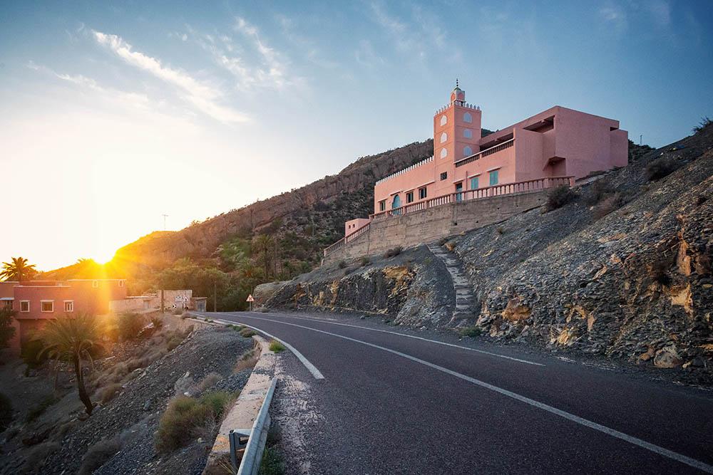 Agadir Maroc route Vallée du paradis