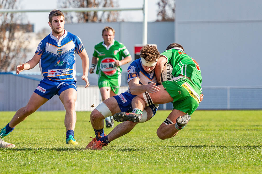 Ligue régionale de rugby d'aquitaine plaquage Lormont Hasparren
