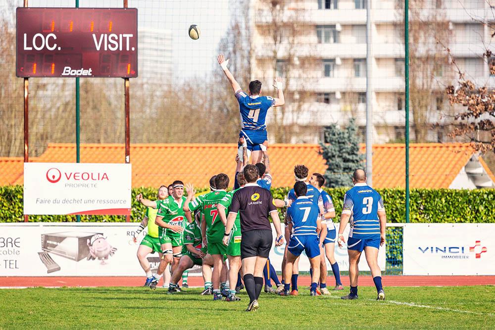 Ligue régionale de rugby d'aquitaine touche Lormont Hasparren