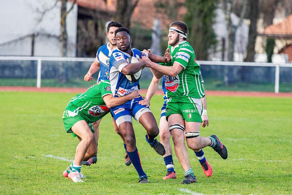Ligue régionale de rugby d'aquitaine plaquage Lormont