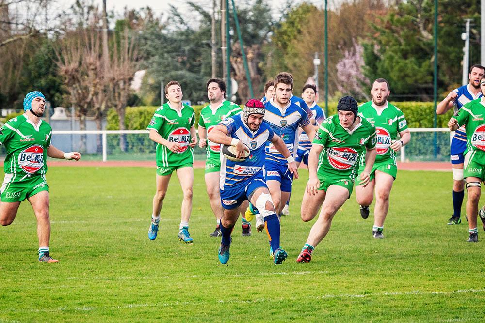 Ligue régionale de rugby d'aquitaine Lormont Hasparren